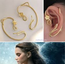 what is ear cuff beauty and the beast earrings ear cuff desert sky