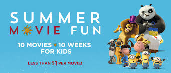 2016 discounted summer movie programs for kids one hundred
