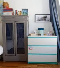Painting Malm Dresser Ikeaenik Ikea Malm Remake In Blues Just Me Pinterest Ikea