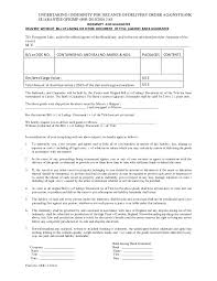 Resume No Nos 5 Undertaking Indemnity For Issuance Of Delivery Order Against B U2026