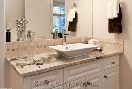 Granite Bathroom Vanities Vintage Granite Bathroom Vanity Top White Granite From Canada