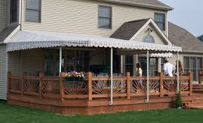 Wall Awning Residential Patio Awning Cei Awning U2014 The Canvas Exchange Inc
