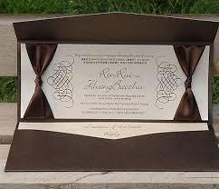 Wedding Invitations With Rsvp Aliexpress Com Buy Rustic Wedding Invitations Card With Ribbon