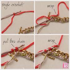 crochet bracelet diy images Diy crochet beaded bracelet jpg