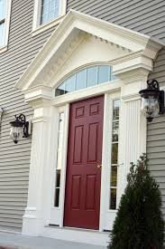 Pvc Exterior Doors Fancy Ideas Decorative Trim Around Front Door Pvc Exterior
