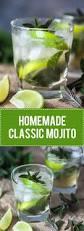 bacardi mojito recipe homemade classic mojito vibrant plate