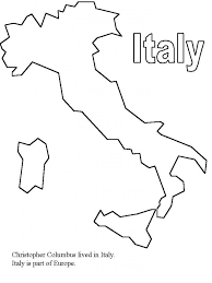 coloring pages italy