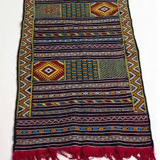 Kilim Rug Runner Carpet Runner Rg0206 Almertine Moroccan Online Store