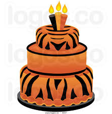 orange birthday cake clipart bbcpersian7 collections