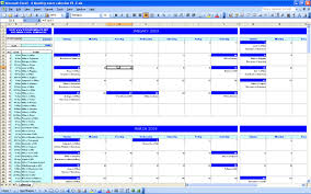 Excel Event Calendar Template Event Schedule Template Excel