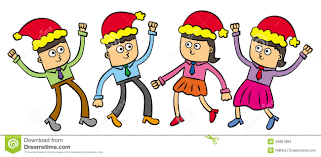 business christmas party clipart free business christmas party