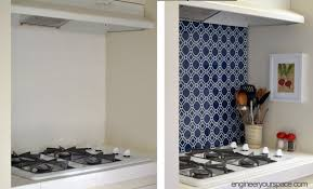 temporary kitchen backsplash diy temporary kitchen backsplash diyer