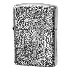 Why Won T My Zippo Light Armor Zippo Lighter Antique Floral Design B Silver Oxidized Kool