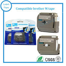 how to install brother p touch tape 5pcs lot p touch printer label tape brother m k231 mk231 black on