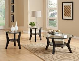 round glass coffee table sets ideas with table accessories on the