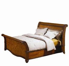 King Size Sleigh Bed King Size Sleigh Bed With High Profile Footboard By Aspenhome