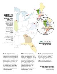 State Of Vermont Map by Vermont Byways