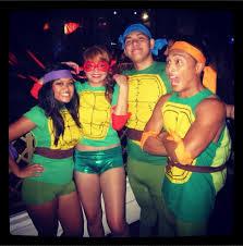 Tmnt Halloween Costumes Teenage Mutant Ninja Turtles Group Costume 2 Bigdiyideas