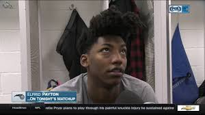 elfrid payton hairstyle elfrid payton orlando magic at miami heat 12 20 2016 youtube