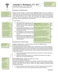 registered nurse resume nursing resume example er nurse resume