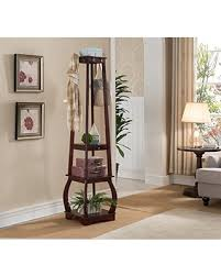 spectacular deal on kings brand furniture entryway coat rack with