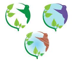 eco site elegant playful logo design for michael melton by beryb design
