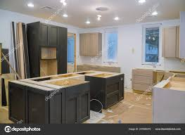 corner kitchen cabinet island kitchen cabinets installation blind corner cabinet island drawers and counter cabinets installed 227896370