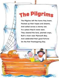 pilgrim poem grade pilgrim thanksgiving and