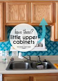 kitchen cabinet storage ideas storage ideas for little upper cabinets the homes i have made