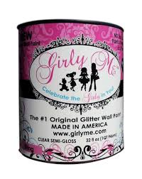 bling glitter wall paint by girly me