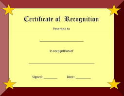 sle certificate of recognition template free printable certificate templates free sales receipt form