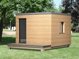 bureau de jardin en bois insolite atypique en bois chalet bureau abris studio jardin modulaire