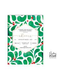 modern holiday party invitation christmas party invitation