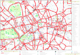 Washington Dc Hotel Map by Washington Dc Maps Throughout Map Of London Hotels And Attractions