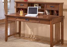 Computer Desks With Hutch Stringer Furniture Cross Island Large Leg Desk Low Hutch
