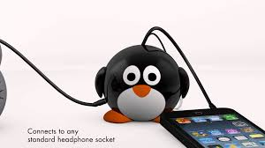 Cute Speakers by Kitsound Mini Buddy Penguin Youtube