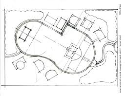 clifford see landscape architecture portfolio sample drawings the draft sketch above to the design drawing