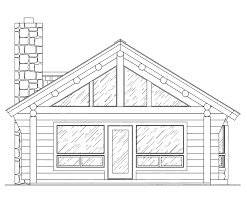 log home floor plan vacationer