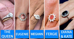 diana wedding ring meghan markle kate middleton and the engagement ring