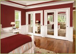 Mirrored Sliding Closet Doors Mirror Sliding Closet Doors Lowes Home Design Ideas