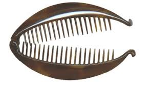 banana comb saga of the interlocking hair combs