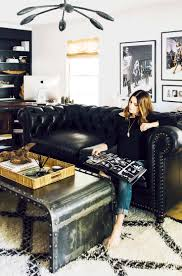 Decorate Living Room Black Leather Furniture Best 25 Black Leather Couches Ideas On Pinterest Black Couch