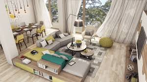 Luxury Apartment Interior Designs For Young Couples RooHome - Apartment designs