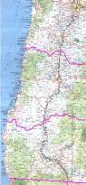 Oregon Map by California Oregon Border Map California Map