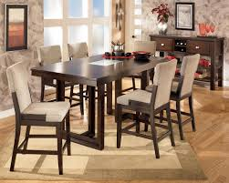 dining room sets glass dining room counter height dinette sets glass counter height