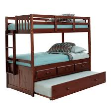 Bunk Beds With Trundle Bunk Beds Twin Over Twin With Trundle Home Design Ideas