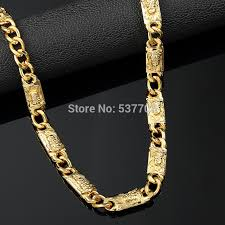 aliexpress buy new arrival men jewelry gold silver 3pc new fashion 1cm70cm gold last king chain statement necklace