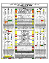 south central usd 5 2015 2016 school calendar approved