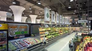 market design architecture plan mini supermarket interior layout