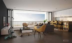 best coolest open concept apartment jkaa design living room small
